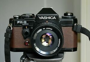 Yashica FX-D slr with Yashica ML 50mm F2 prime lens