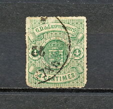 Nnal 151 Luxembourg 1868 Used Mich 14 Damage