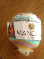 "Mandala Yarn (Lion Brand)  ""Pixie"" 525 - 205   590 yds"