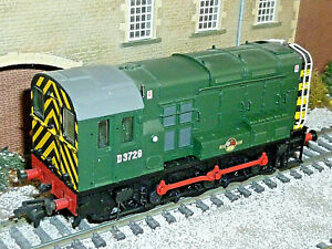 Bachmann 08 Locomotive BR Green boxed Superb Tested D3729 00 gauge OO 32-101