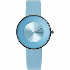 Ladies LAMBRETTA 'Cielo' Blue Leather Watch rrp £58 - New