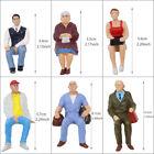 24Stk. Modellbau Verschieden Sitzende Figuren Spur G 1:22.5-1:25 Minigartendekor