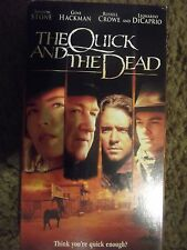 The Quick and the Dead (VHS, 1995, Closed Captioned) Sharon Stone ~ Rated R