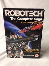 Robotech - The Complete Saga (DVD, 2007) #S1246