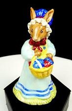 "Royal Doulton Db19 Michael Doulton Signed Easter Parade 4"" Mrs Bunnykins 1982"