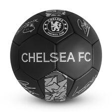Chelsea Football Club Phantom Signature football - Size 5 - Black