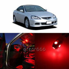 8 x Super Red LED Interior Light Package Kit For Acura RSX 2002 - 2006