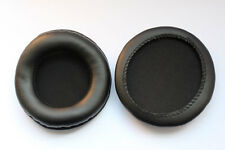 Ear Cushion Pads for Sony MDR-V500DJ 80mm pads PU Leather  Black *NEW
