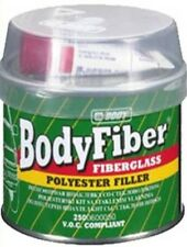 HB Body Body Fibre Fibre Glass 2K Polyester Filler 250g Dries Quickly Brand New