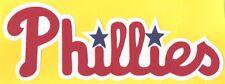 "HUGE PHILADELPHIA PHILLIES IRON-ON PATCH - 3.5"" x 11"""