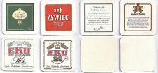 4x Sous Bock Beer Coaster Mats Bierdeckel : EKU 28  Eku 28 Bitburger Zywiec beer