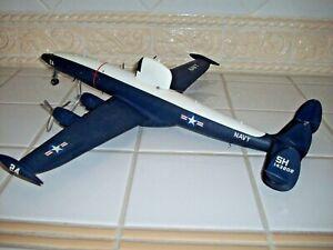 Very RARE Adams Revell Lockheed WV-2 Radome Warning Star Airplane - Built