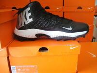 Nike Zoom Code Elite Turf Football Shoes Cleats Gray Black SIZE 12.5 604618-002