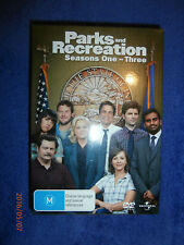 Parks and Recreation Season 1 2 3 (3xDVD set) TV comedy Amy Poehler, Rob Lowe