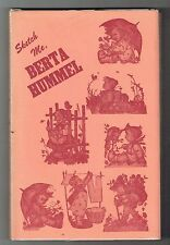SIGNED SKETCH ME BERTA HUMMEL BIOGRAPHY OF SISTER MARIA INNOCENTIA HB BK W/DJ!