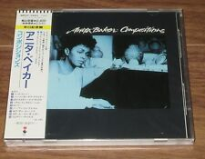 ANITA BAKER Japan PROMO CD factory SEALED obi Compositions 1990 original issue