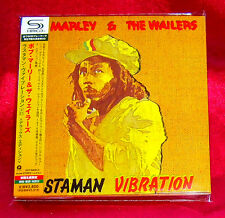 Bob Marley Rastaman Vibration SHM MINI LP CD 2 X CD JAPAN UICY-94591-92