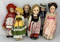 Effanbee Doll Lot of 6 Germany Red Riding Hood Switzerland France GIGI Canada BK