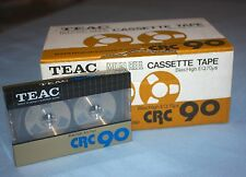1~TEAC CRC 90 New ~ Factory Sealed ~ Reel to Reel ~ Cassette Tape(s)