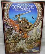 The Book of Conquests Jim Fitzpatrick Illustrated First Edition 1978 Spain NICE!