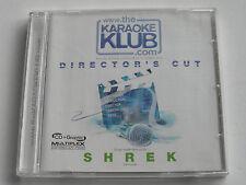 Directors Cut - Shrek - Karaoke Klub (CD+G Album) Used Very Good