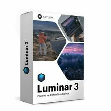 SKYLUM LUMINAR 3 + SKYLUM LUMINAR 2018 WIN & MAC 5 ACTIVATION LIFETIME LICENSES