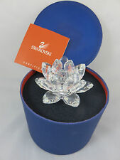 Swarovski Kristall Blume Seerose Kerzenhalter in OVP mit Zertifikat