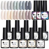 UR SUGAR 13Pcs 7.5ml Nagel Gellack Soak off Nail UV Gel Polish Grau Gel UV Kit