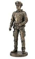 "13"" Policeman Statue Police Officer Cop Sculpture Figurine Figure Collectible"