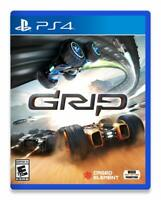 Grip Combat Racing Sony PS4 Playstation 4 Arcade Racer Fight Battle Rare Game