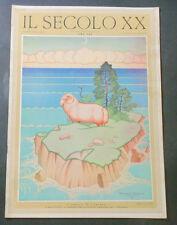 Rivista Settimanale - Il Secolo XX - N° 11 Marzo 1931 Nicouline