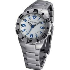 TIME FORCE TF-3186B02M  RELOJ CADETE ACERO 50M