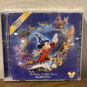 Walt Disney World Official Album Where Magic Lives by Various Artists (CD) GOOD