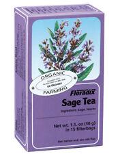 Salus Floradix Sage Herb Tea (ORGANIC) 15 Bags