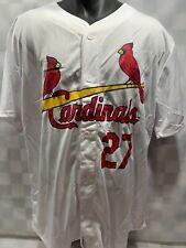 Scott ROLEN St Louis CARDINALS Baseball MLB Jersey Men's Size XL Stadium Promo
