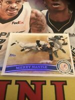 Topps Mickey Mantle Yankees Base Card HOF Legend 2011