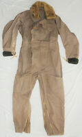 Rare WW2 RCAF RAF Royal Air Force British 1941 Pattern Sidcot flying Suit nice !