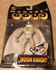 Marvels Gold Moon Knight Figure Collectors Edition 1997 Toy Biz NEW
