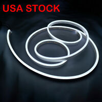 Pure White Flex Neon LED Rope Light for Letter Sign Making Home Decor USA STOCK