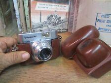 Voigtlander Vito B 35mm Film Camera w/ 50mm f/3.5 Color-Skopar Lens 1957