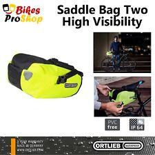 ORTLIEB Saddle Bag TWO HIGH VISIBILITY - Bike Bicycle WATERPROOF GERMANY 2020