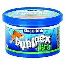 King British Tubifex Fish Treat - 10g - 329004