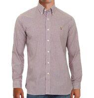 Ralph Lauren Mens Shirt Classic Fit Pliad 100% cotton Stretch Long Sleeve XL