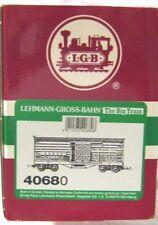 LGB 40680 DENVER & RIO GRAND WESTERN STOCK CAR       NEW