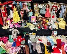Vintage Barbie, Ken, Allan, Midge, Skipper, & Skooter Lot