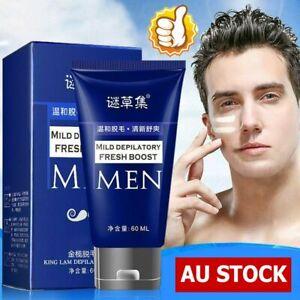 Permanent Hair Removal Cream Depilatory Paste for Body Pubic Armpit For Men #T