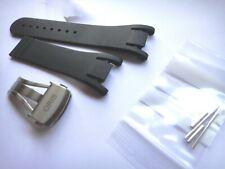 Genuine ORIS 28mm RUBBER band strap bracelet TT3 Day Date #07 4 28 02 Ø42.5mm