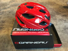 Louis Garneau Asset Cycling Helmet Red Size M