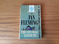 JAMES BOND 007 The Spy Who Loved Me by Ian Fleming (1963) Signet pb 1st