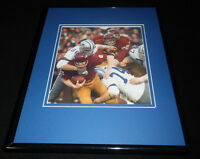 George Andrie Framed 11x14 Photo Display Cowboys vs Sonny Jurgensen